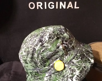 1931fdfbe36 The Roses iconic first album inspired hand painted bucket hat wearable  abstract art created in Manchester size fits up to 59cm adults