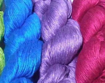 Milk Yarn - DK weight - jewel tones