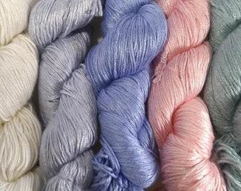 Milk Yarn - DK weight - pastels