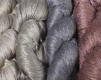 Milk Yarn - DK weight - neutrals and earth tones