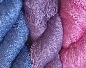 Milk Yarn - Lace weight - solid colors