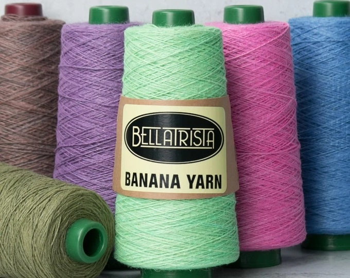 Featured listing image: Banana Yarn for Weaving