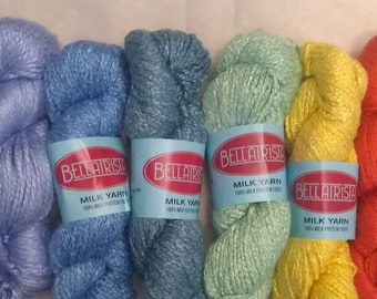 Milk Yarn - bulky weight - bright colors