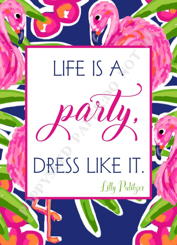 Lilly Pulitzer Quotes Preppy Quotes By Lilly Pulitzer Etsy Unique Lilly Pulitzer Quotes