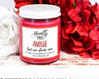 Anoshe | 9oz jar | Shades of Magic Bookish Soy Candle | Book Candle | Book Gift | Scented Candle | Book Candle | Bookish Gift