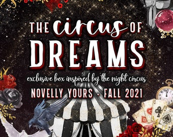 The Circus of Dreams ·Night Circus inspired candle box
