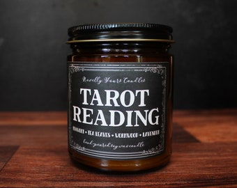 Tarot Reading · Enigmatic Aromas · mugwort, black tea, wormwood, lavender