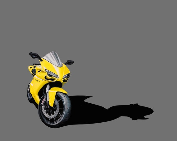"Ducati 848 ""Rubber Duck"""
