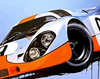cb37156397c Number 9 Gulf Racing Porsche 917