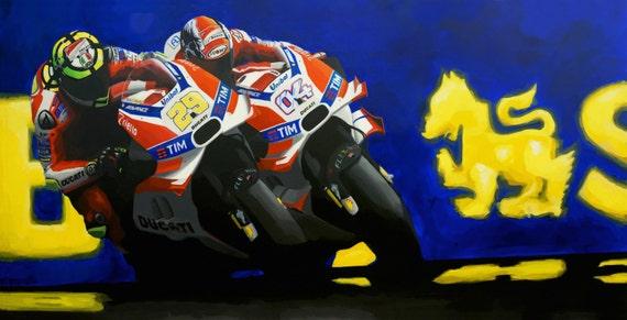 Round 10: MotoGP Austria, Dovi v. Iannone