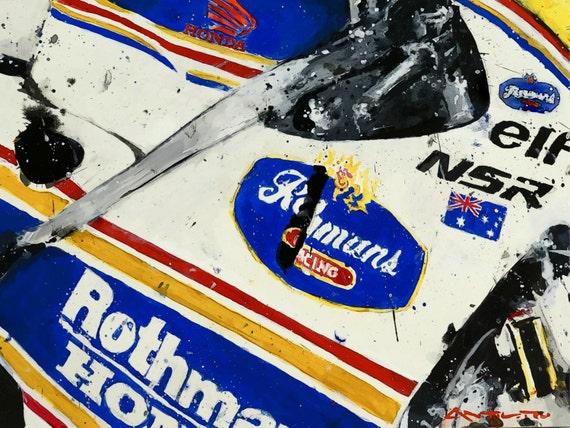 Rothman's Honda NSR500