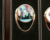 Mobile Phone Ring Holder *Original Artwork - St Louis Fireworks* Cell Phone Stand Purse Bridesmaid Gift