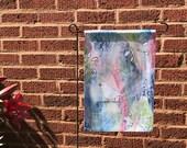 Garden Flag *Original Artwork - Alabaster Paradise*