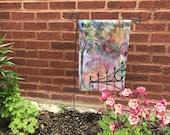 Garden Flag *Original Artwork - Lafayette Square*