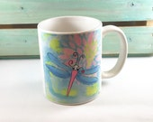 Coffee Mug *Original Artwork - Debdragonfly*