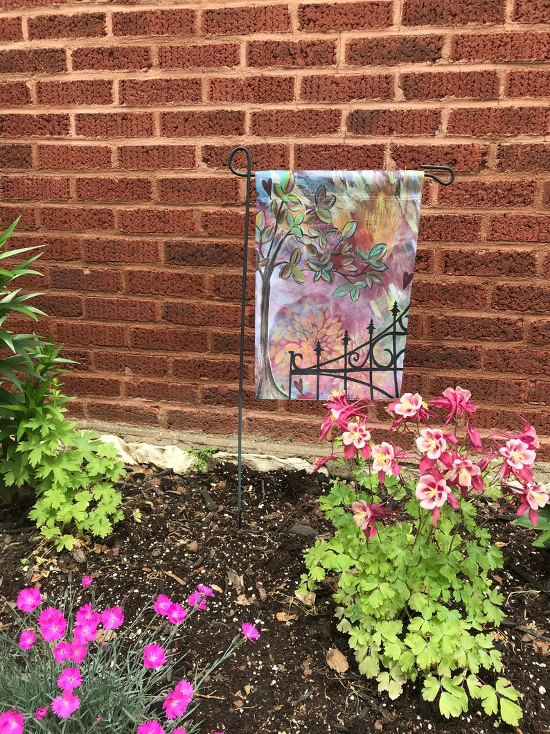 Garden Flag Original Artwork  Lafayette Square image 0