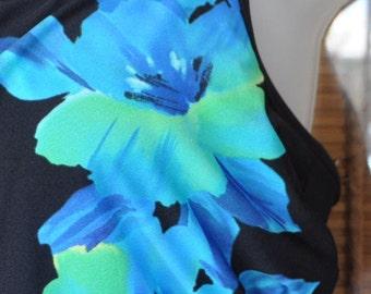 Black and Blue Bathing Suit Size 12| Suit | Womens Suit | Bathing Suit