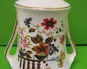 Vintage Royal Stafford England Bone China Imari Miniature Vase