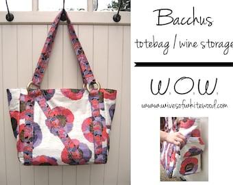 Bacchus Totebag PDF Sewing Pattern
