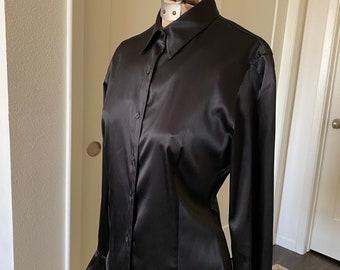 Ralph Lauren Black Long Sleeve Blouse