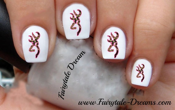 1097 Browning 20 Water Slide Nail Art Transfer Decals Stickers Etsy