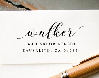 Return Address Stamp, Self Inking Address Stamp, Address Stamp, Wedding Address Stamp, Custom Address Stamp