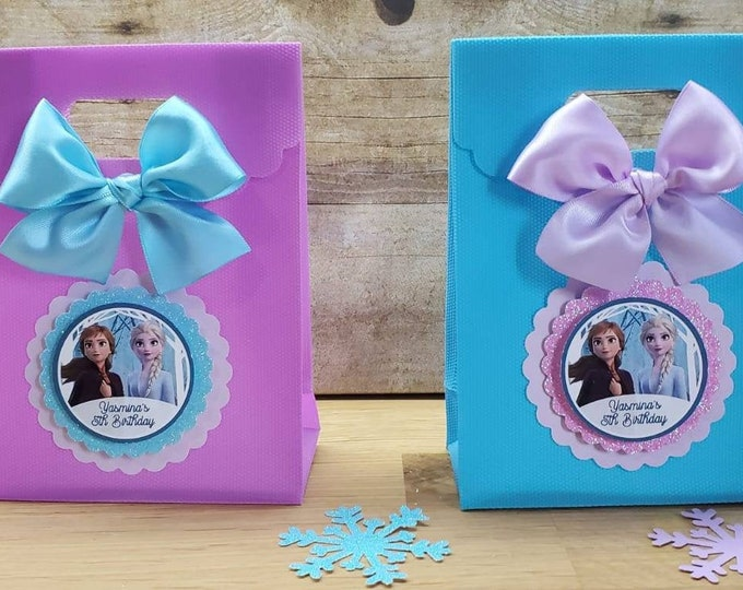 Frozen 2 (Inspired)   Party Favor, Frozen new movie favor box, Frozen II favor ( This Price Is For A Single Bag)
