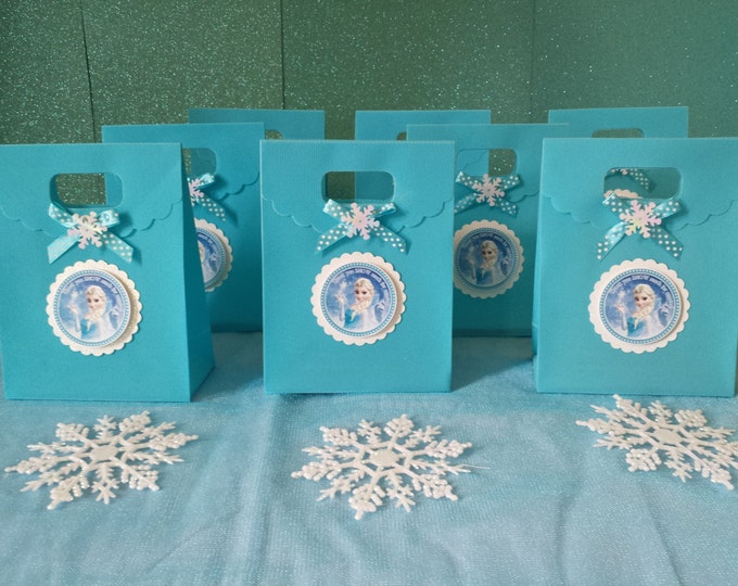 Frozen (Inspired)  Party Favor, Frozen (Inspired)  Treat Bags!! This Price Is For A Single Bag!!