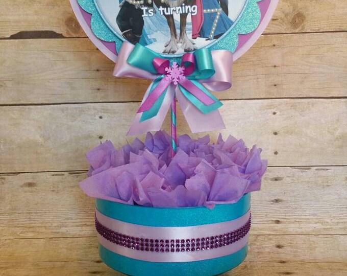 Frozen (Inspired)  centerpiece ,  Frozen (Inspired)  party decoration