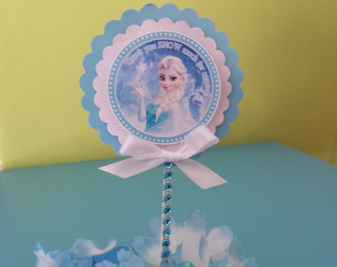 Frozen (Inspired) cupcake toppers!!! This Price is For A Single Cupcake Topper!!