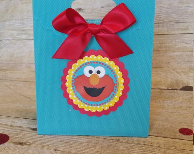 Elmo (Inspired) Treat bags,Elmo (Inspired)  Birthday,Elmo (Inspired) decorations (Inspired) This Price Is For Single Bag!!
