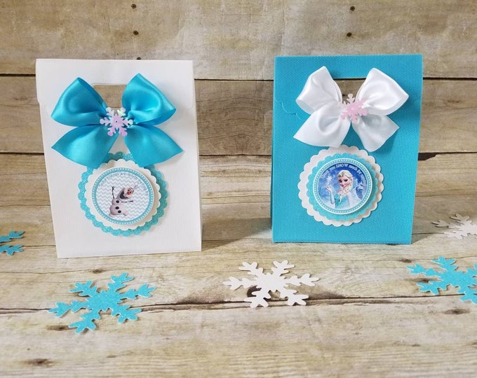 Frozen (Inspired) Party Favor, Frozen (Inspired)  Treat Bags ( This Price is For A Single Bag )
