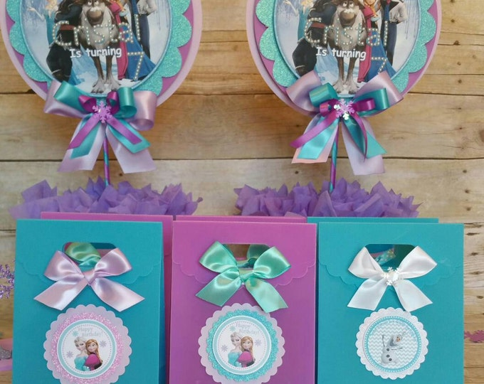 Frozen(Inspired)   Party Favor, Frozen (Inspired)  Treat Bags ( This Price Is For A Single Bag)