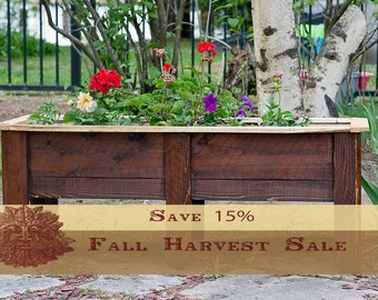 Cedar Planter, Outdoor Planter, Planter Box, Large Planter. Cedar Planter  Box, Garden Box, Garden Planter, Raised Garden