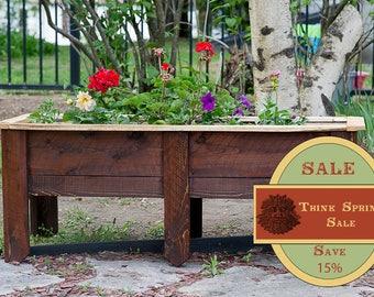 SPRING SALE!! Cedar Planter, Outdoor Planter, Planter Box, Large Planter. Cedar Planter Box, Garden Box, Garden Planter, Raised Garden