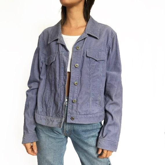 Vintage Lilac Corduroy Jacket