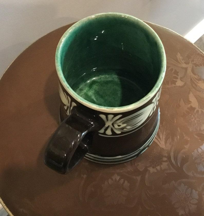 Abbednaes Pottery Denmark Large Mug Potteri