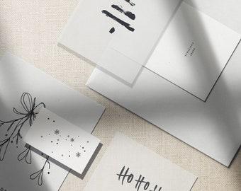 Weihnachtsmotive // Postkarte // Geschenkanhänger