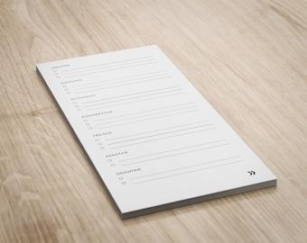 Notepad >> ToDo