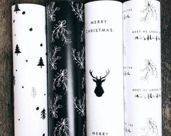 Gift wrapping paper >> Christmas