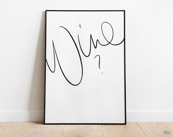 Poster >> Wine?