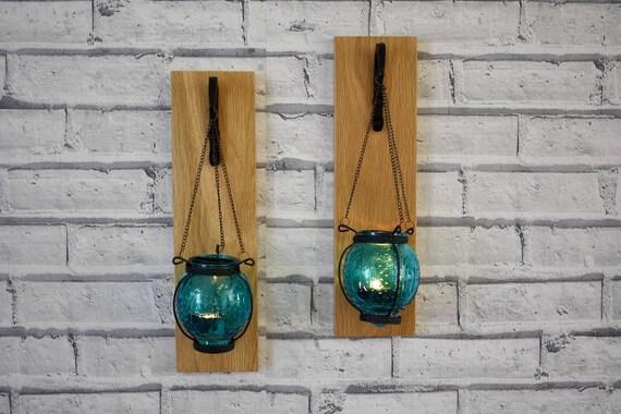 Applique da parete con lanterna marocchina portacandele in etsy