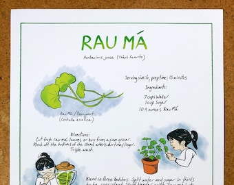 Rau Ma Recipe