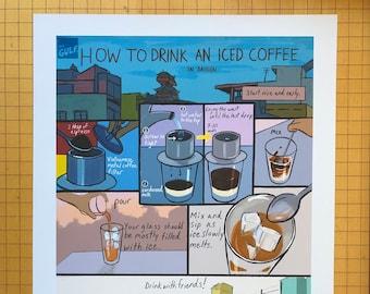 How To Make Iced Coffee (In Saigon)