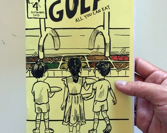 The Gulf # 4: All You Can Eat  (Paper Edition)