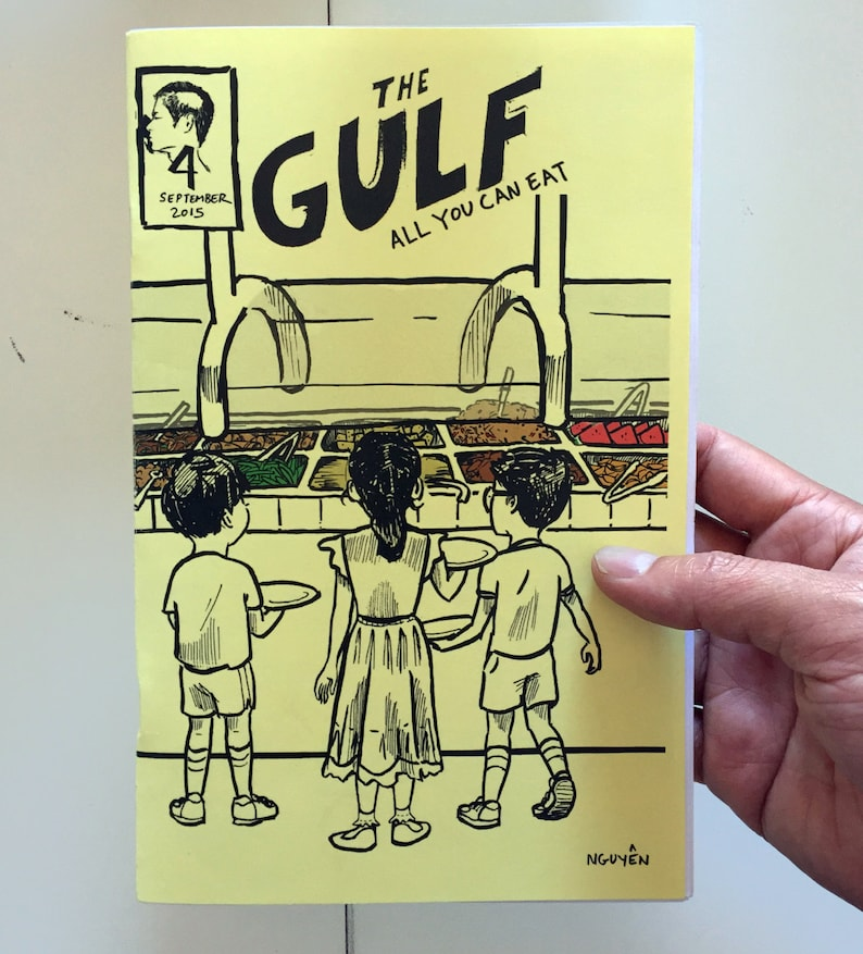 The Gulf  4: All You Can Eat  Paper Edition image 0