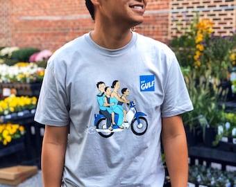 Motorbike Family: T-Shirt