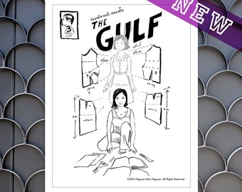 Cover, The Gulf #3: Fifty Needles