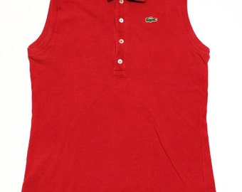 f7678505b 60 s vintage Lacoste sleeveless shirts made in France