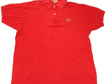 163c612a6 70 s vintage Lacoste polo shirts made in France